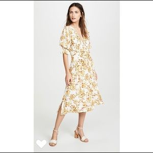 FAITHFULL THE BRAND Rafa Floral Midi Dress